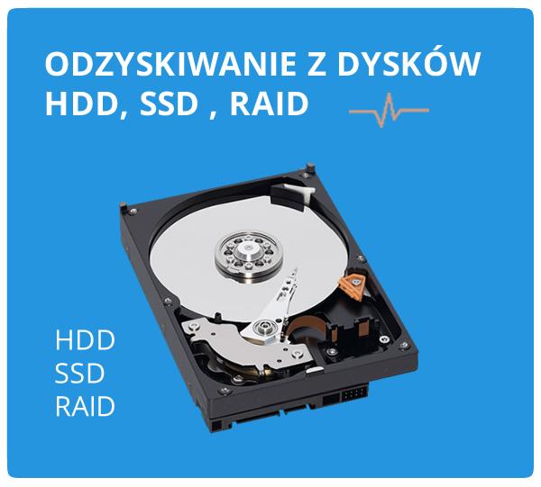 Odzyskiwanie danych z dysków twardych hdd